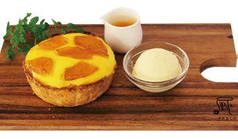 シナモンのチーズタルト