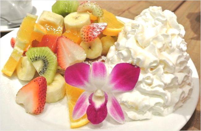 ハワイアンパンケーキファクトリーのパンケーキ