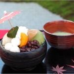 イクスカフェ嵐山本店のメニューは?日本庭園で和スイーツが楽しめる♩