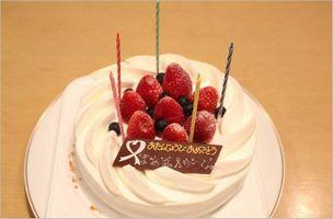 藤堂プランニング 誕生日ケーキ